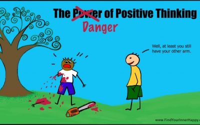 When Positive Thinking Becomes Dangerous (Warning: Bloody TreeDoodle)